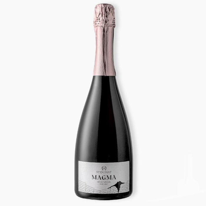 St Donat Magma Kekfrankos Rose Brut Sparkling Wine from Hungary