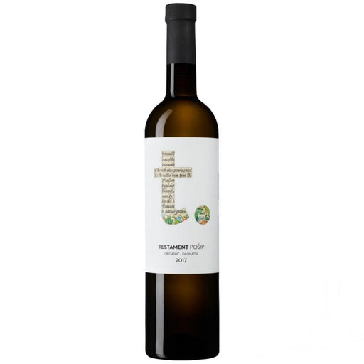 Testament Organic Posip Croatian White Wine