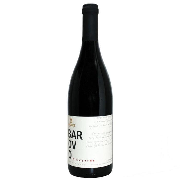 Tikves Barovo North Macedonian Red Wine