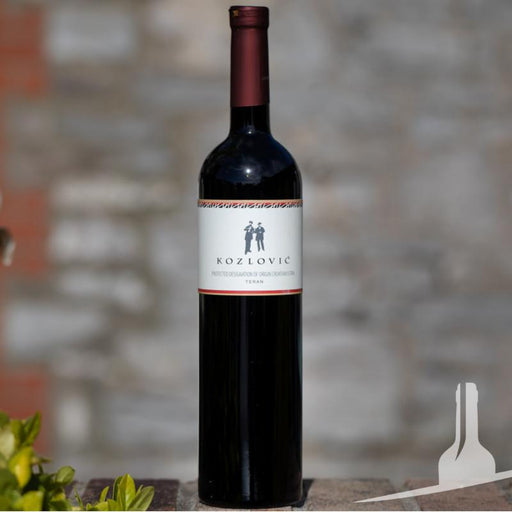 Vina Kozlovic Teran red wine from Istria, Croatia: Buy wine online from Novel Wines