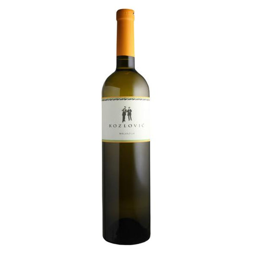 Vina Kozlovic Malvazija Istarska (Malvasija from Istria) is a fruity and floral style of white wine