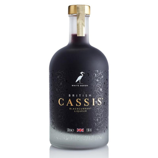 White Heron British Cassis Blackcurrant Liqueur