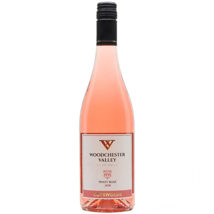 Woodchester Valley Vineyard Pinot Noir Rose from the Cotswolds