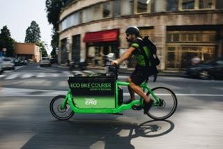 EcoBike Courier news post - Ghiglione Genova