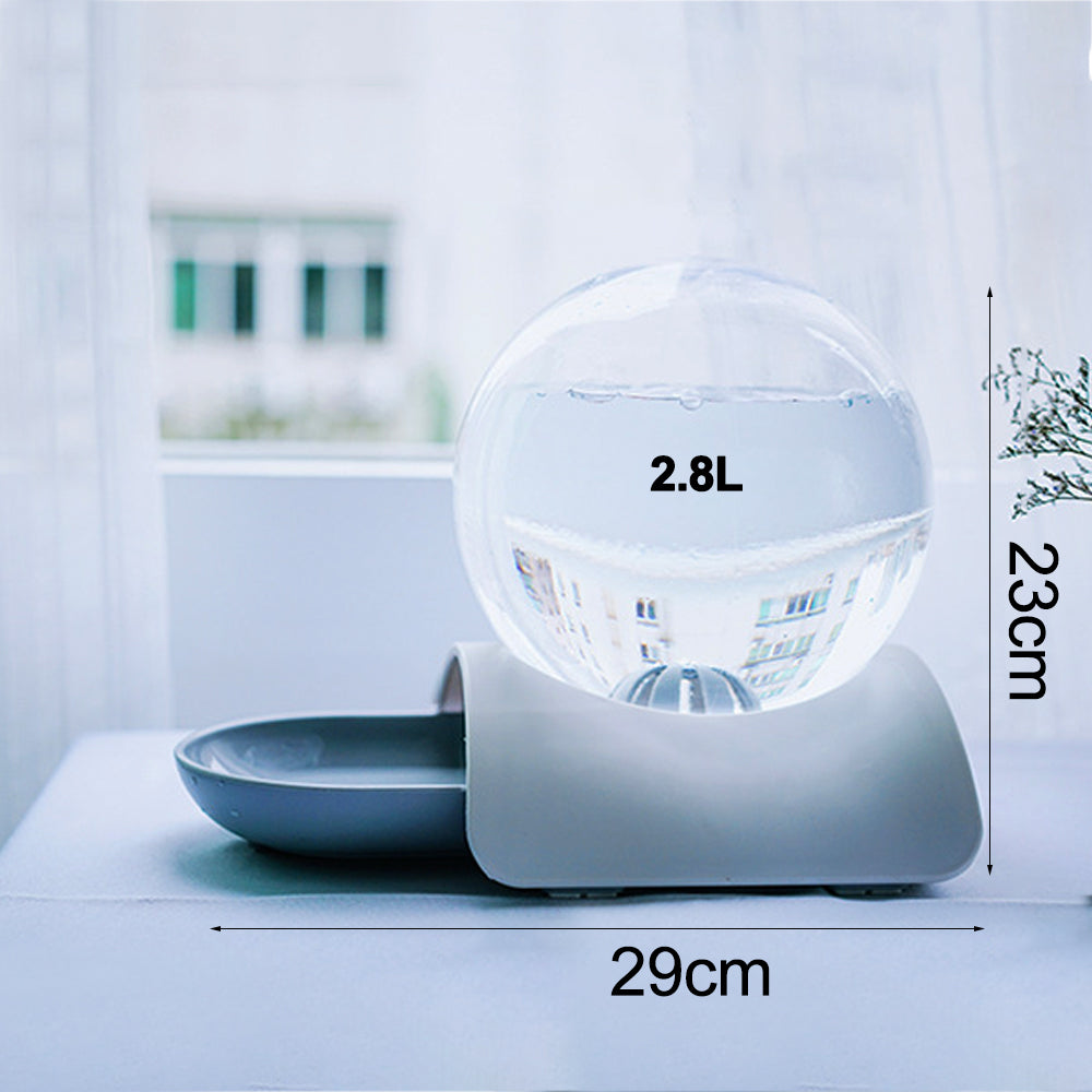Non-Electronic Automatic Bubble Fountain Water Dispenser