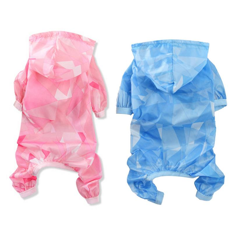 Four-leg Raincoat/Summer Thin Sun Protection Clothes For Shih Tzu