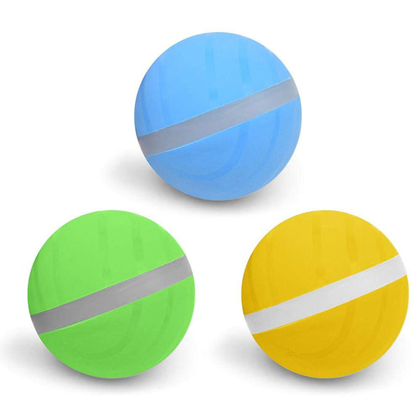 Interactive Flashing Elastic Automatic Rolling Ball