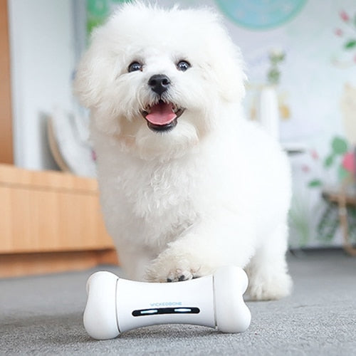 Wickedbone Smart Pet Emotional Interaction Bone Toy Smart Dog Toys with Application Control