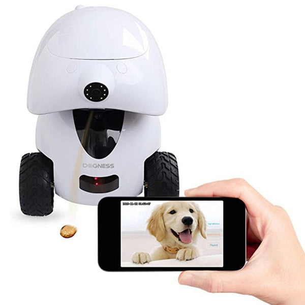 Smart Remote Control Robot Toy With 720P HD Night-Vision & Video Monitor Application