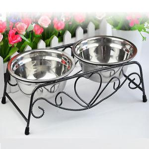 Double Stainless Steel Bowl