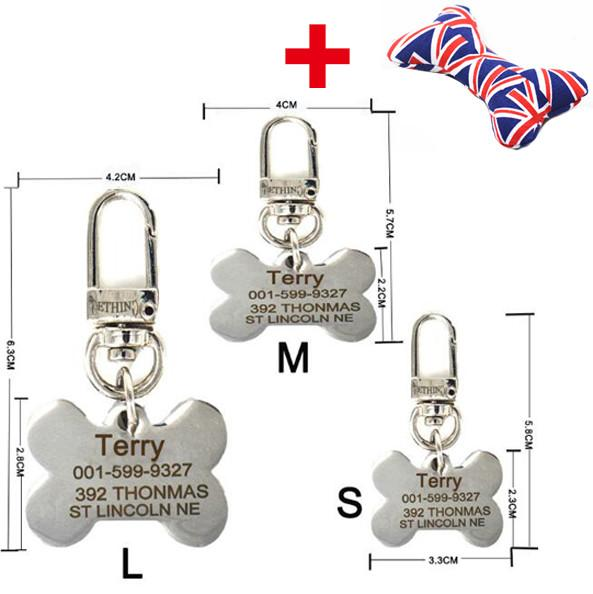 Stainless Steel Dog Tag with Customized Engraving