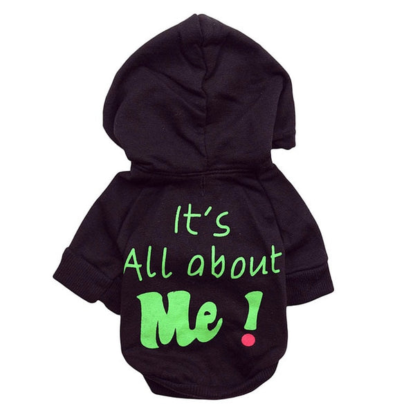 "Security/""It's All About Me"" Hoodies For Shih Tzu"
