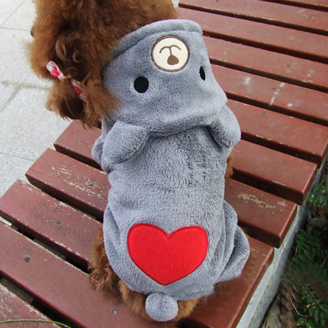 Winter/Fall Love Hoodies for Shih Tzu