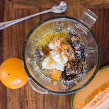 ROCKMELON CHIA PUDDING
