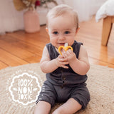 Silicone Banana Baby Toothbrush & Teether