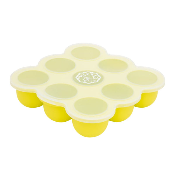 Silicone Food Freezer Storage Tray with Lid