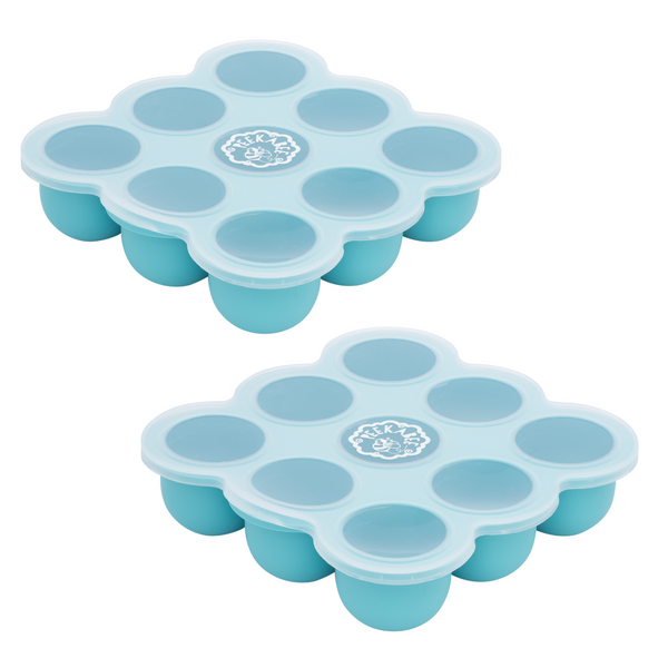 Silipod Twin Pack - Silicone Food Storage Tray with Lid