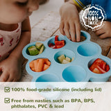 Make-It-Yourself Kit: Reusable Food Pouches (8pk), Funnel + Silipod - VALUE: $54.90