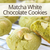Matcha Cookies with Chocolate Chips