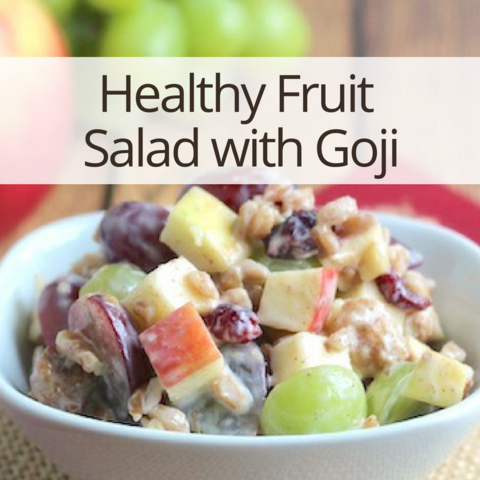 Healthy Fruit Salad with Goji recipes