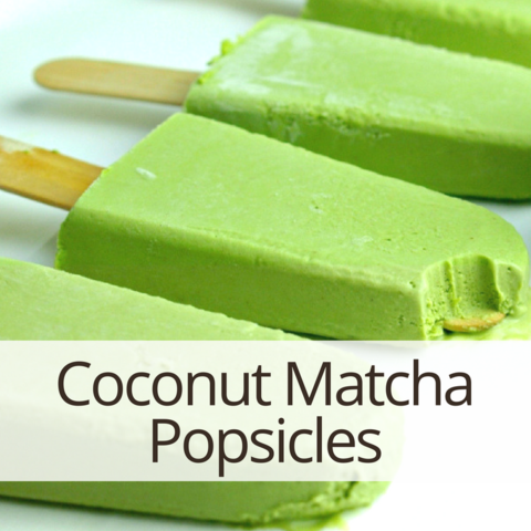 Coconut Matcha Popsicle recipes