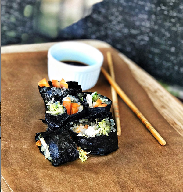 Yacon Miracle Sushi Chicken Sushi Recipe