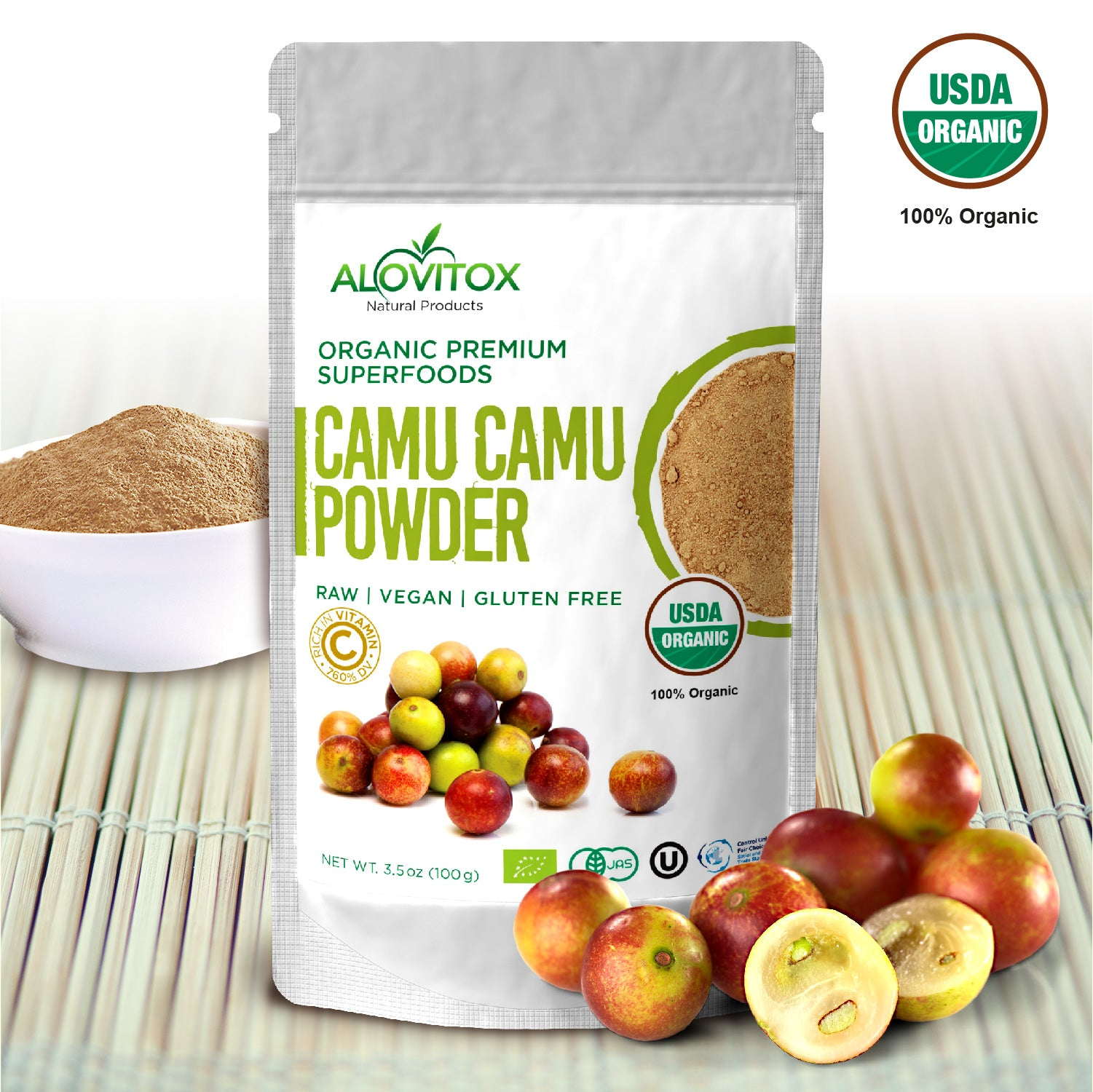 See How much vitamin c in camu camu - This Fruit is the Powerhouse of Vitamin C!