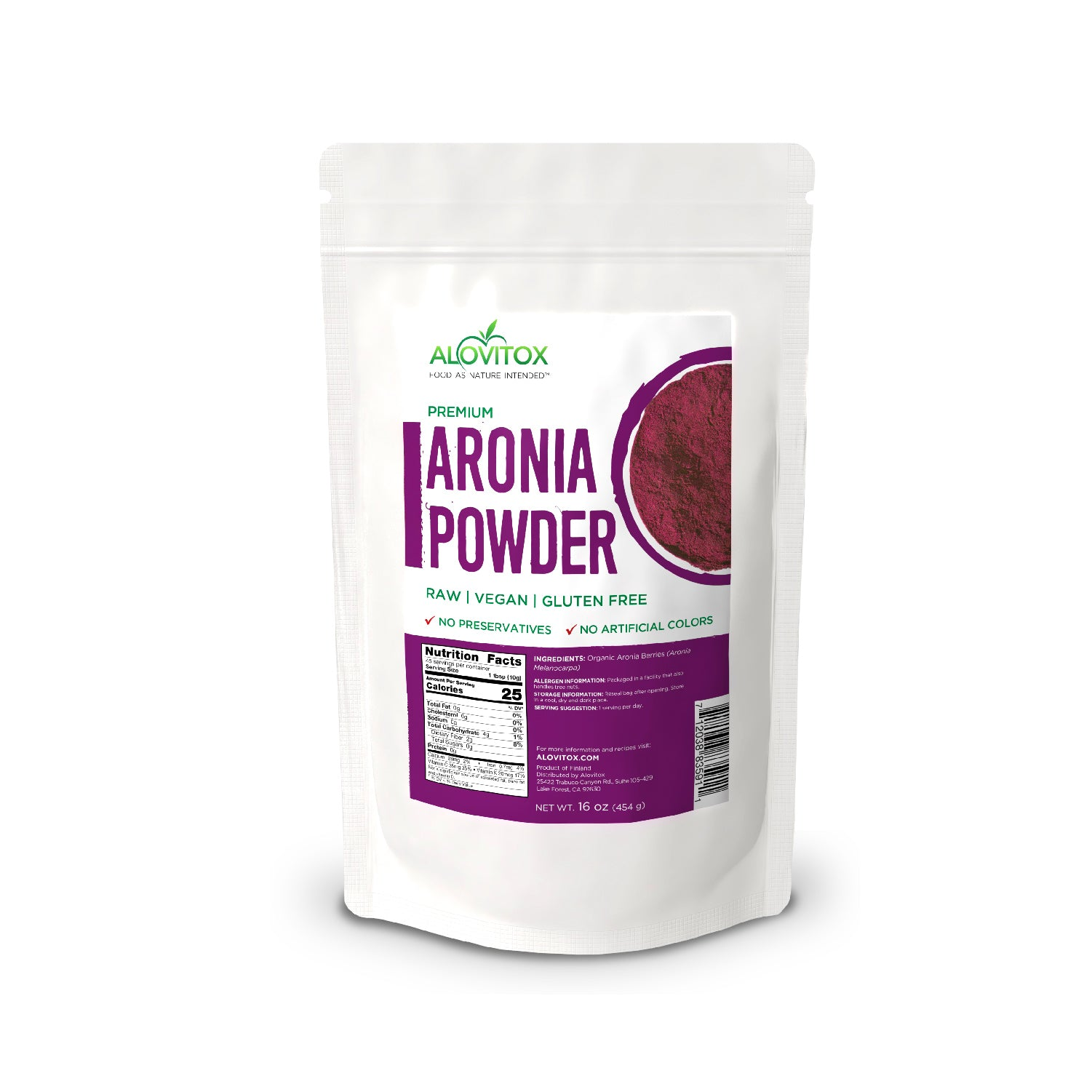 Aronia Berry Juice Powder