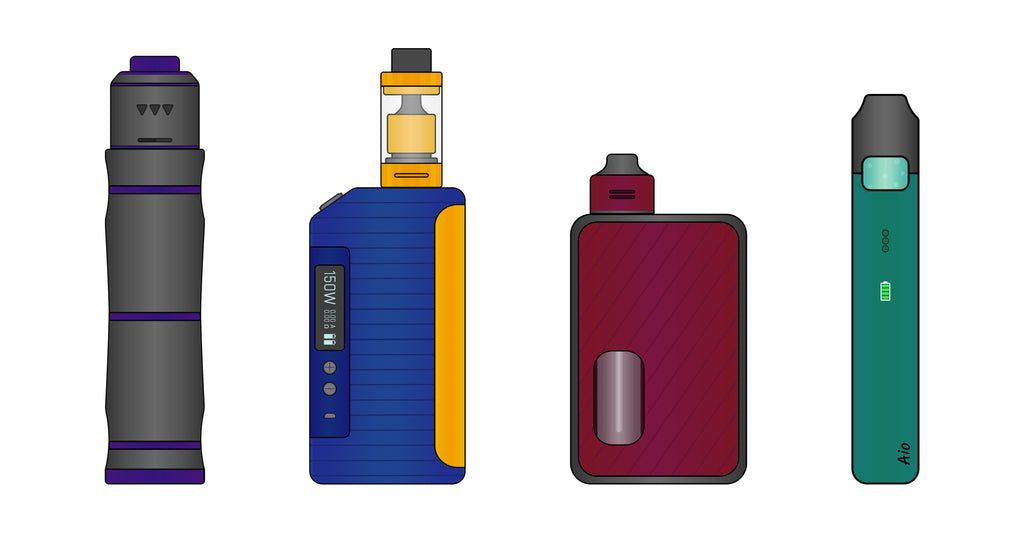New cheaper stuff! - Tanks Kits and mods from Aspire, SMOK, VooPoo - Best prices, as always!