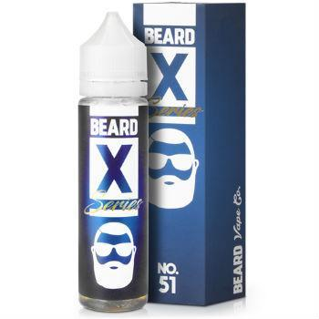 Beard Vape Eliquid No. 51 X Series - by Beard Vape (50ml 0mg Short Fill)