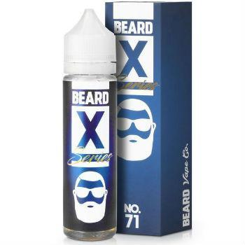 Beard Vape Eliquid No. 71 X Series - by Beard Vape (50ml 0mg Short Fill)