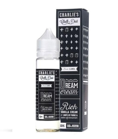 Charlies Chalk Dust Eliquid Dream Cream E Liquid - By Charlie's Chalk Dust (50ml 0mg Short Fill)