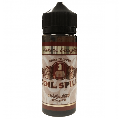 Coil Spill Eliquid Baker's Daughter - By Coil Spill (100ml 0mg Shortfill)