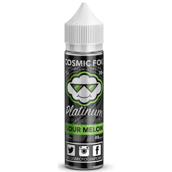Cosmic Fog Eliquid Sour Melon E Liquid - by Cosmic Fog (50ml 0mg Shortfill)