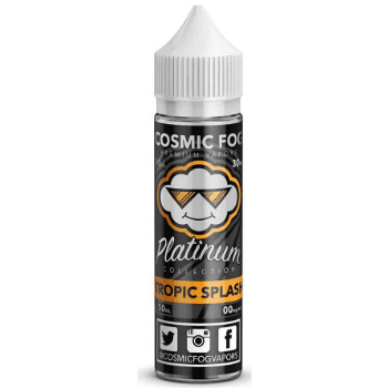 Cosmic Fog Eliquid Tropic Splash E Liquid - by Cosmic Fog (50ml 0mg Shortfill)