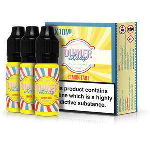 Dinner Lady Eliquid Lemon Tart - by Dinner Lady