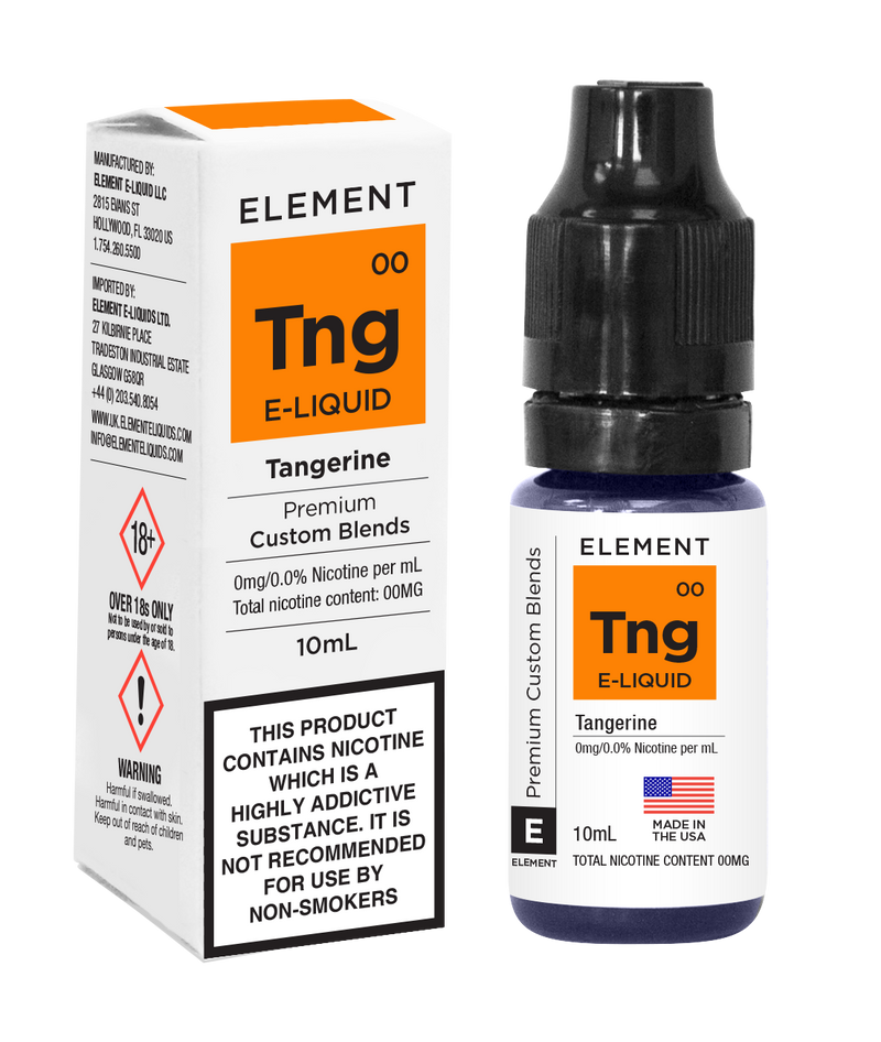 Element Eliquid Tangerine - by Element