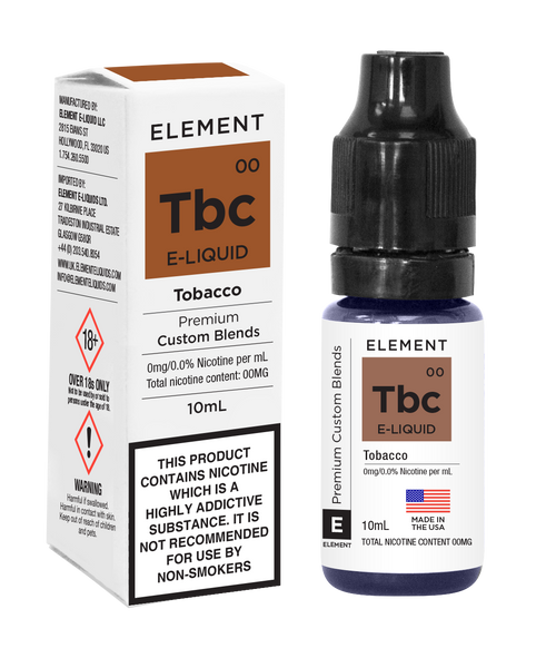 Element Eliquid Tobacco - by Element