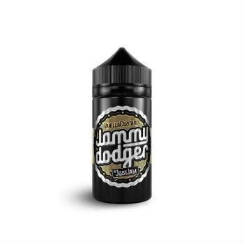 Just Jam Eliquid Jammy Dodger Vanilla Custard E Liquid - by Just Jam (80ml 0mg Short Fill)
