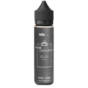 MET4 Eliquid Fairgrounds E Liquid  - by MET4 (50ml 0mg Shortfill)
