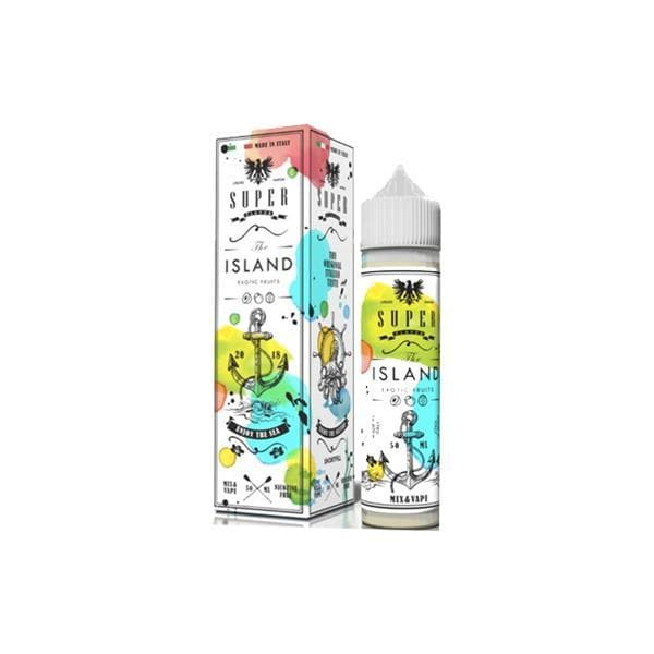 VaporArt Vaping Products The Island Superflavor 0mg 50ml Shortfill (70VG/30PG)