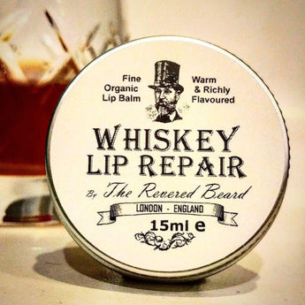 Whiskey Lip Balm by The Revered Beard