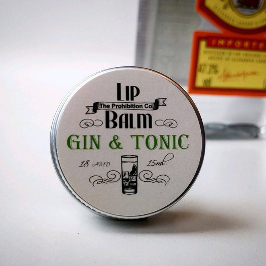 Gin & Tonic Lip balm by The Prohibition Co