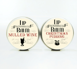 Christmas Pudding & Mulled Wine Lip Balm