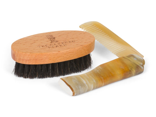 Beard Brush and Moustache Comb by The Revered Beard