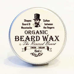 Organic Moustache Wax by The Revered Beard