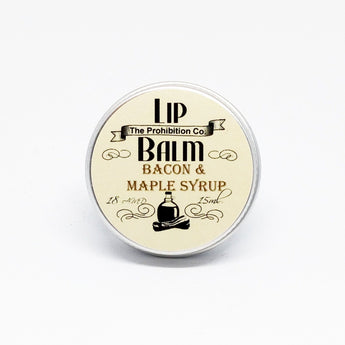 Bacon and Maple Syrup Lip Balm, Vegan Friendly