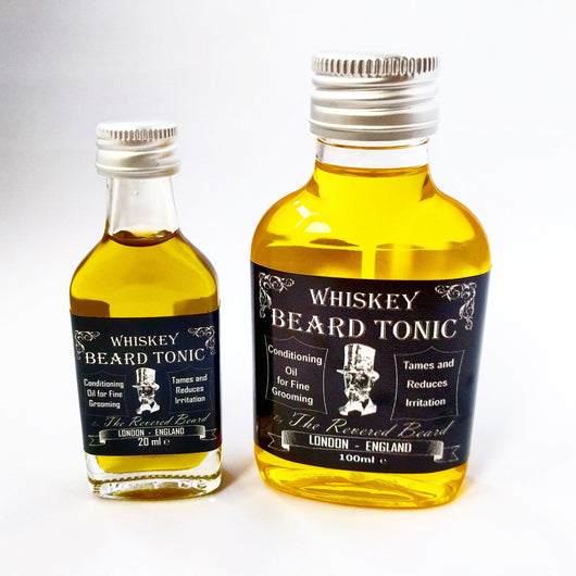 Whiskey scented Beard Oil by Revered Beard