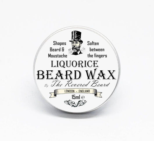 Liquorice Beard and Moustache Wax