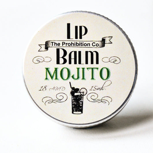 Mojito Lip Balm by Prohibition Co